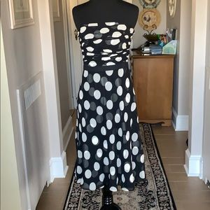 Ann Taylor Polka Dot Dress